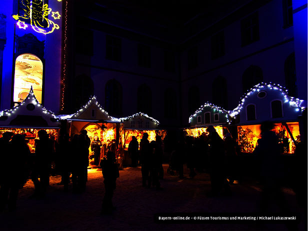 Adventsmarkt in Füssen