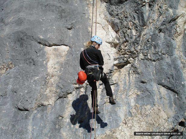 Kletterausrüstung Klettersteig : Klettern klettersteige und in pfronten